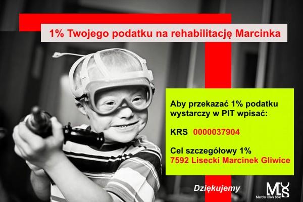 1% dla Marcinka